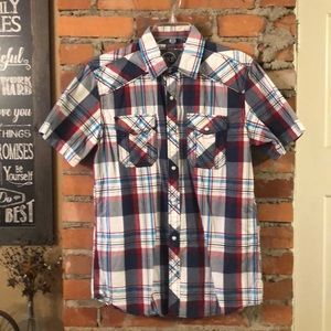 BKE Short Sleeved Button Down